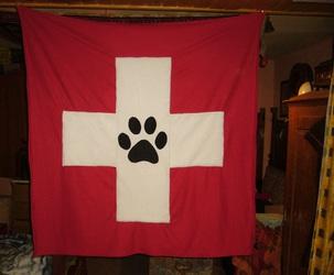 Swiss Furry Flag 1/3 ( Furry Art )