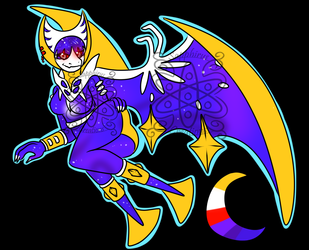 Female Lunala +Design+ (SOLD)
