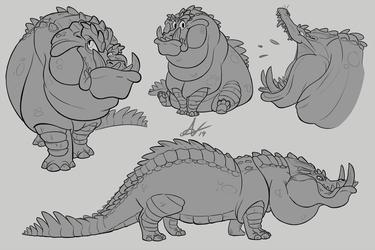 Crocopotamus Studies