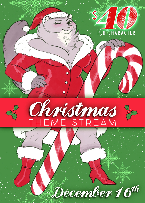 Most recent image: Christmas Theme Stream Slots!