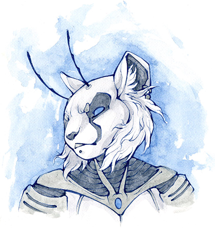 Commission - Farore Bust