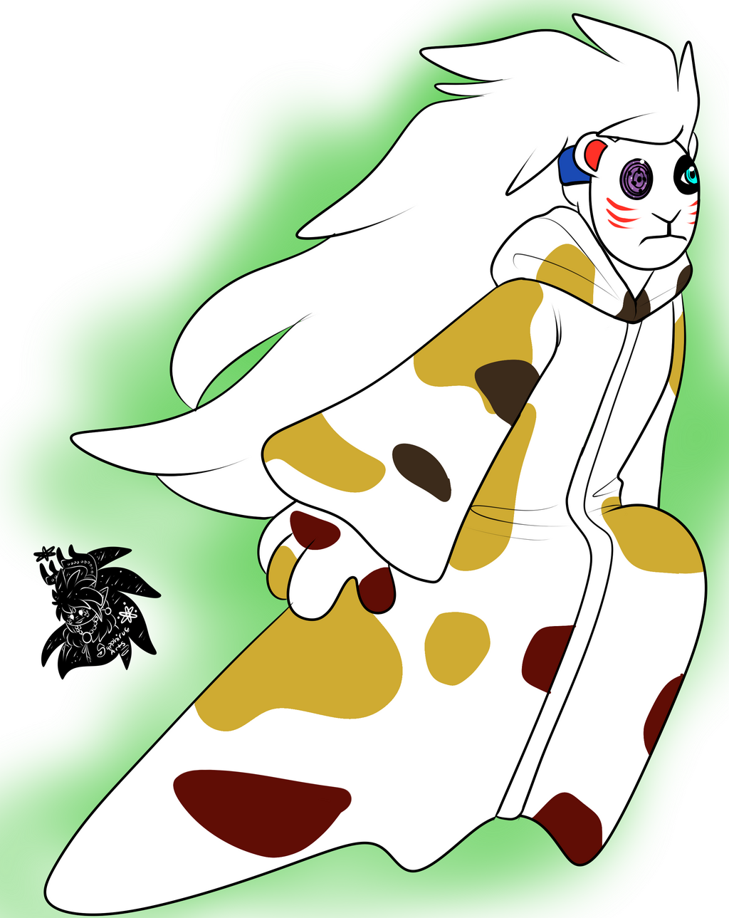 The Male calico +Flatcolored Commission+