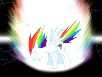 Super Rainbow Dash, Ascending