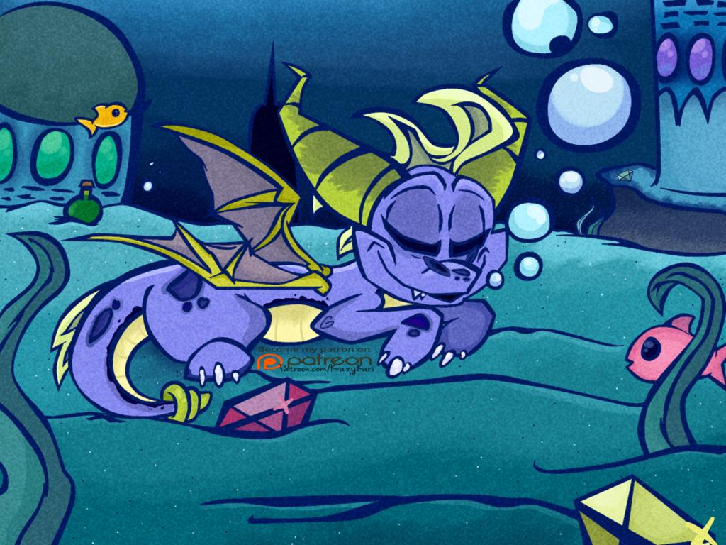 (Spyro the Dragon) Aquaria Towers Nap
