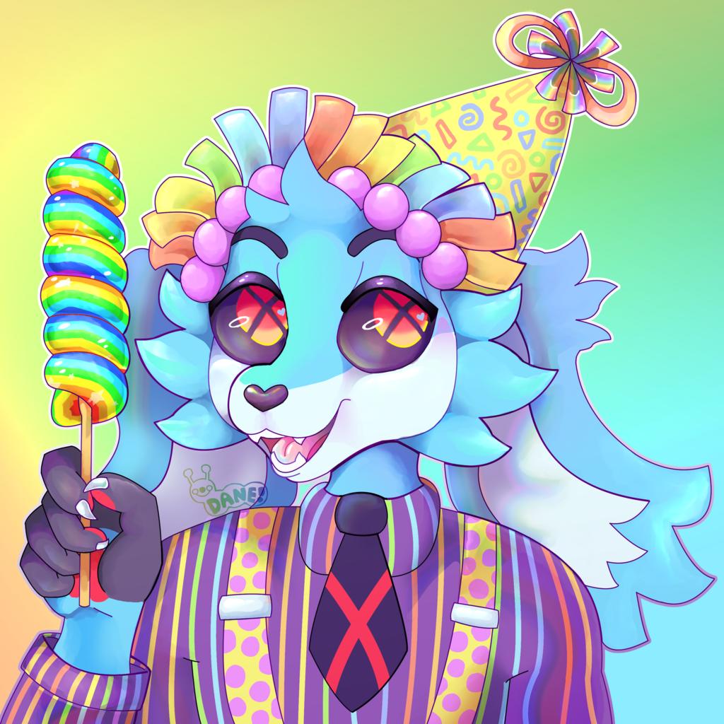 Birthday Party Bunny