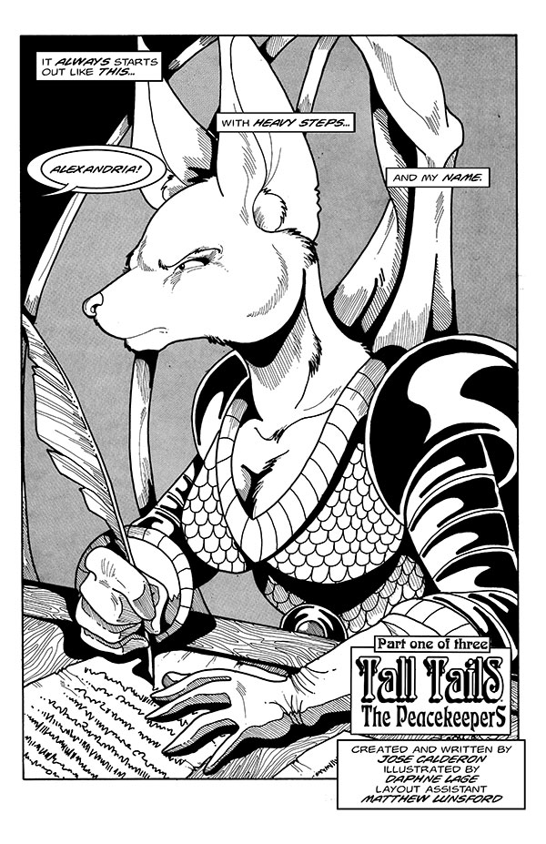 Most recent image: TALL TAILS: THE PEACEKEEPERS ON KICKSTARTER