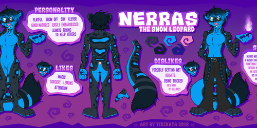 Nerras Reference Sheet (Commission)