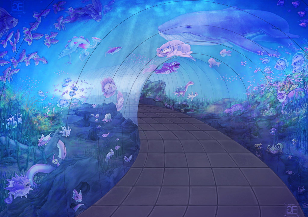 Pink Aquarium