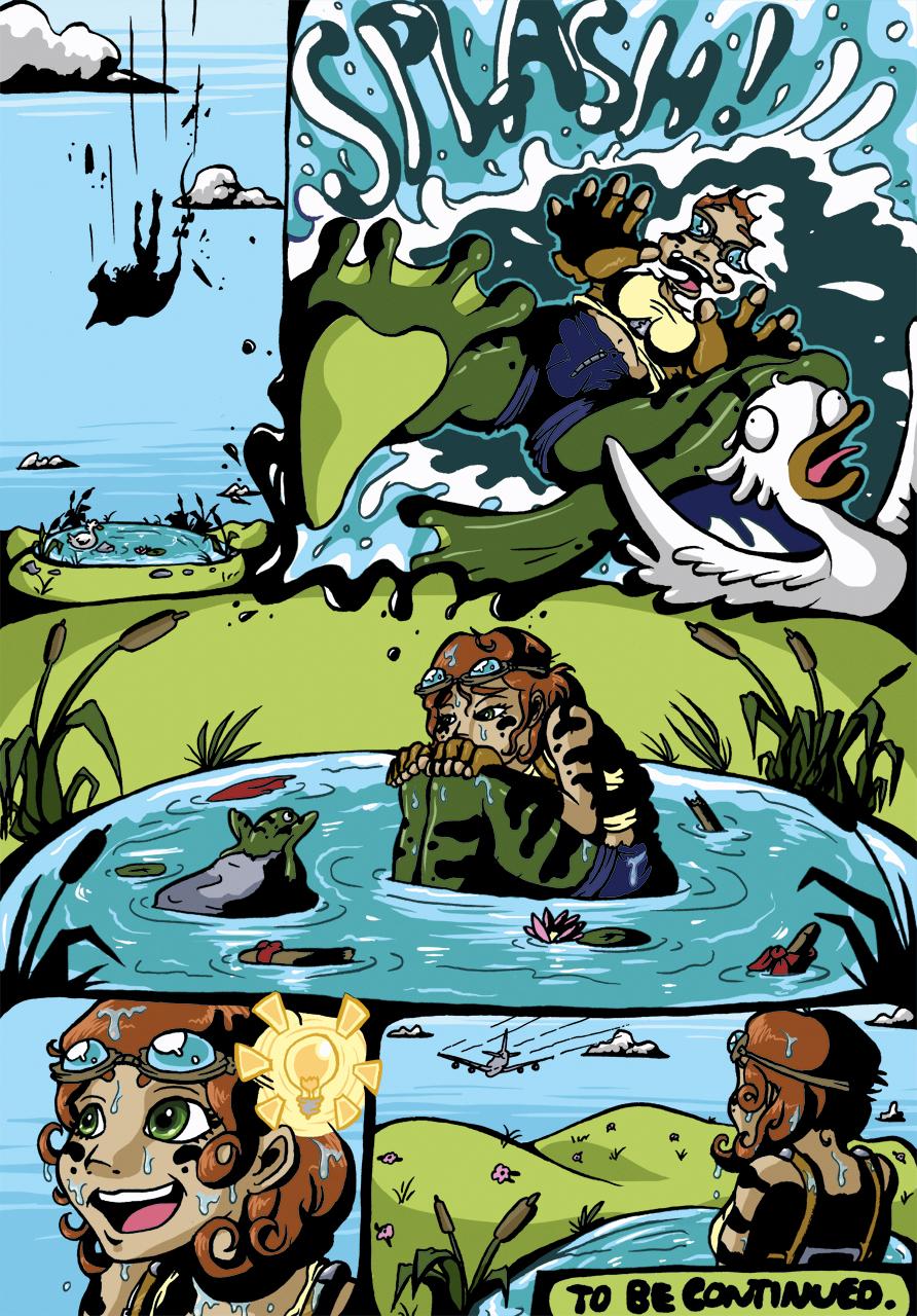 Frog-Legged Girl - Page 3