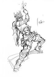 [Lori] Bayanghitam sketch