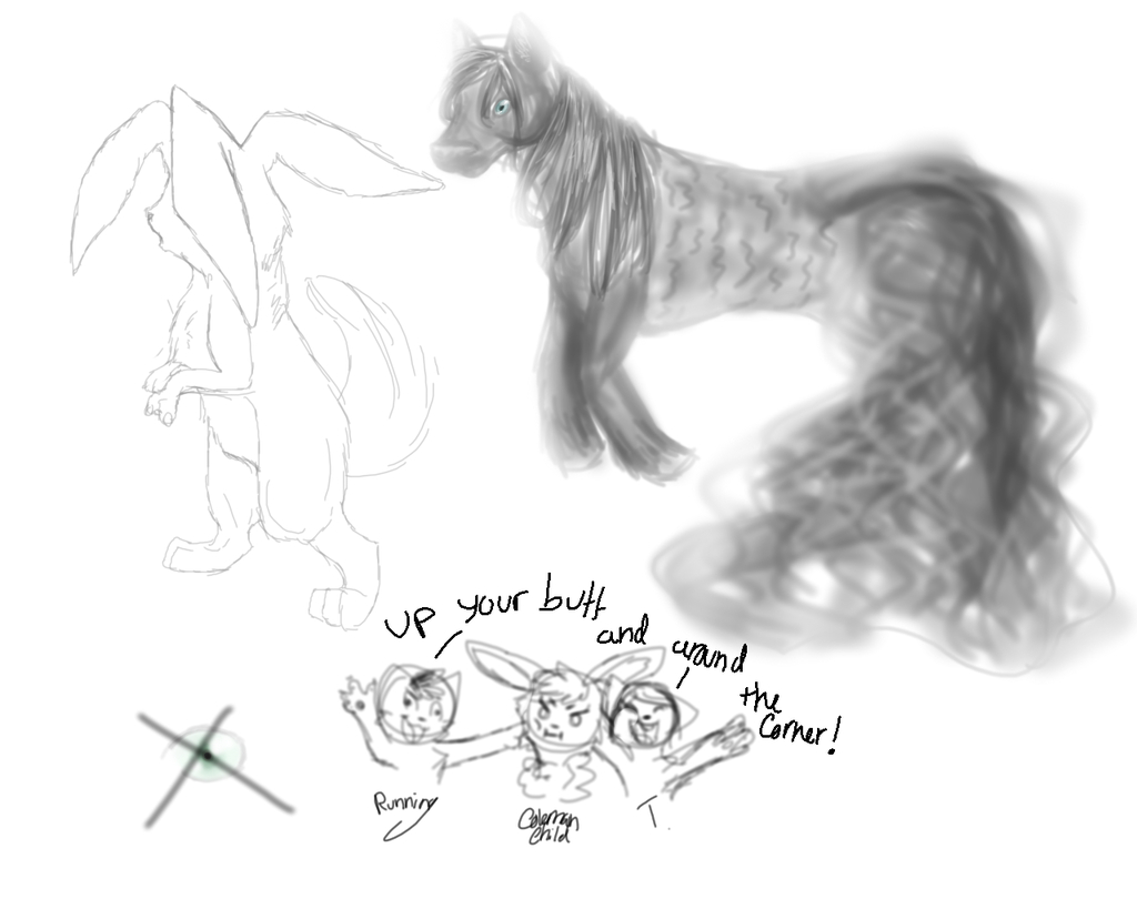 Most recent image: Sketch dump
