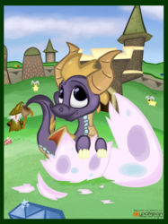 (Spyro the Dragon) Hatching Out of His Shell