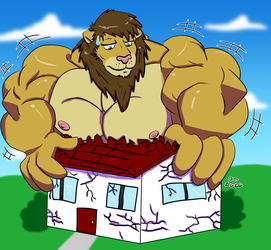 Overdue YCH: Big Lion