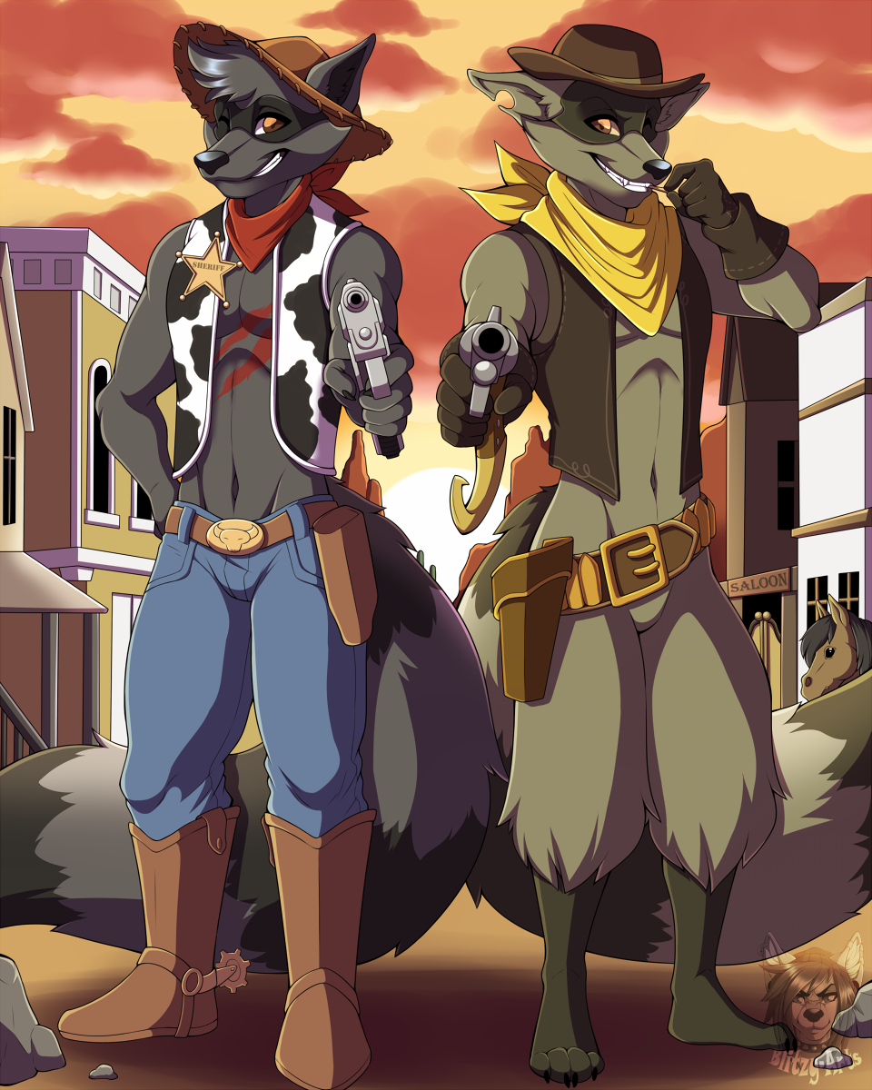 Commission: Old West