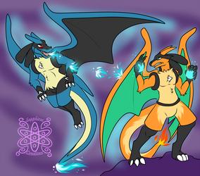 Luca vs Luro +Flatcolored Commission+