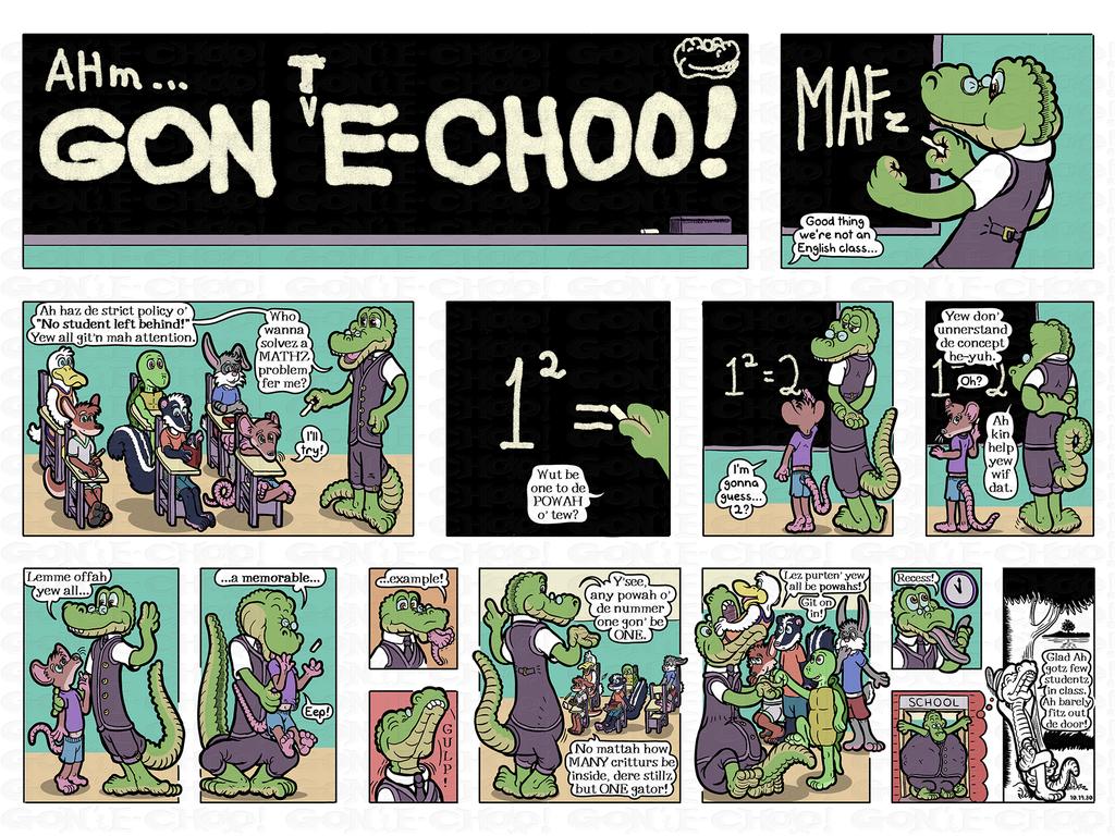 Gon' E-Choo! Strip 168 (www.gonechoo.com)
