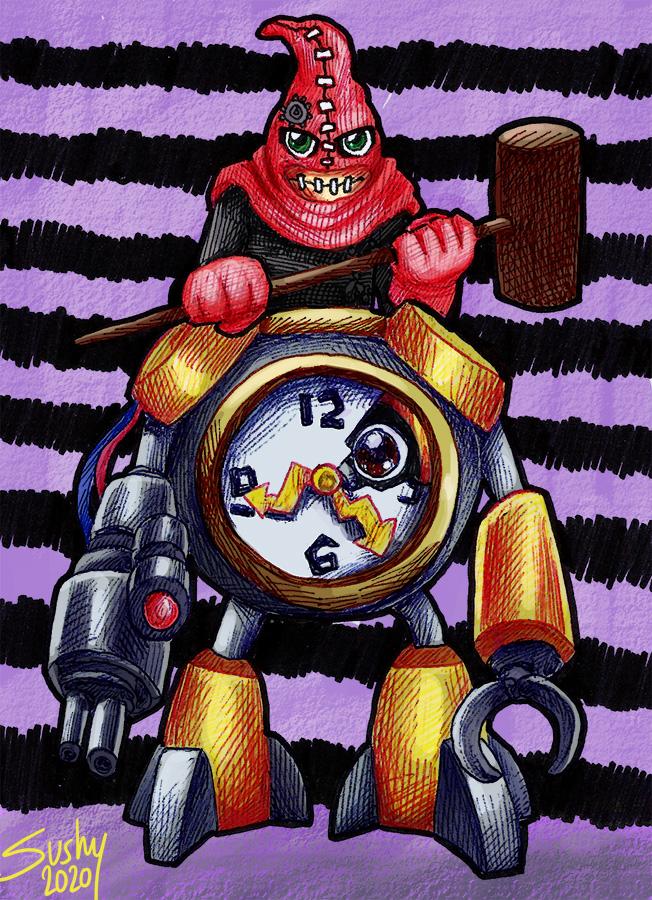Digimontober 24: Clockmon