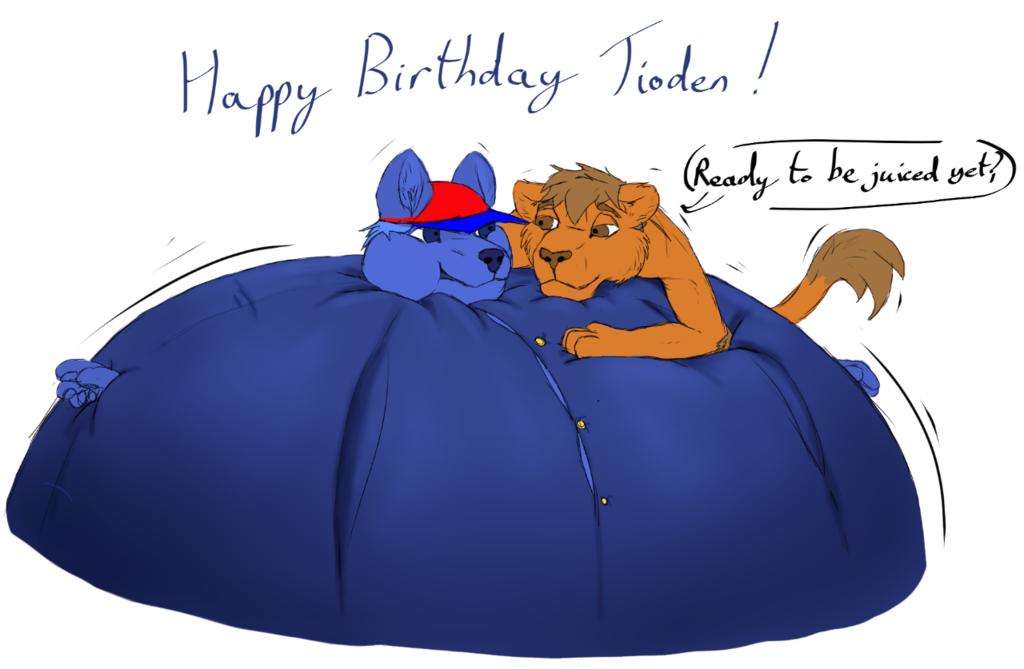 happy birthday tioden