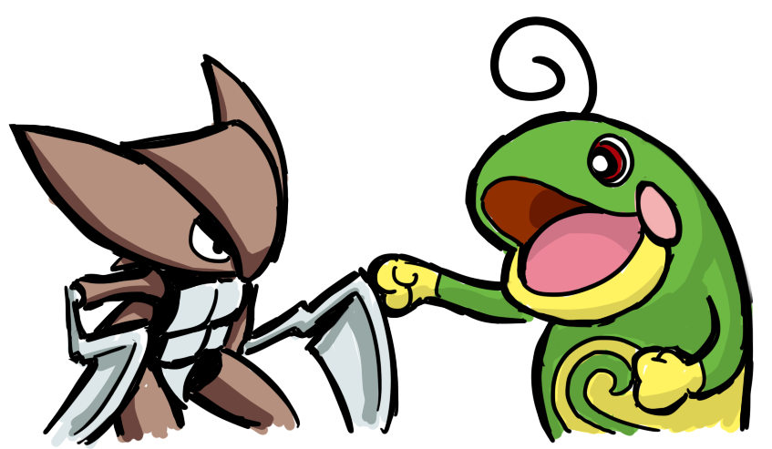 Kabutops and Politoed Brofist