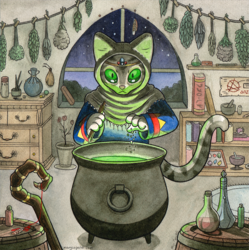 The Cat-Witch