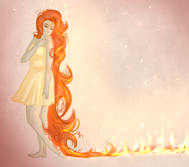 Most recent image: Flaming Red Hair