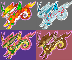 Zapoes Creature Adoptables +Set 2+