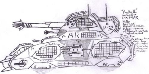 "MR Medium Tank ""Panther II"""