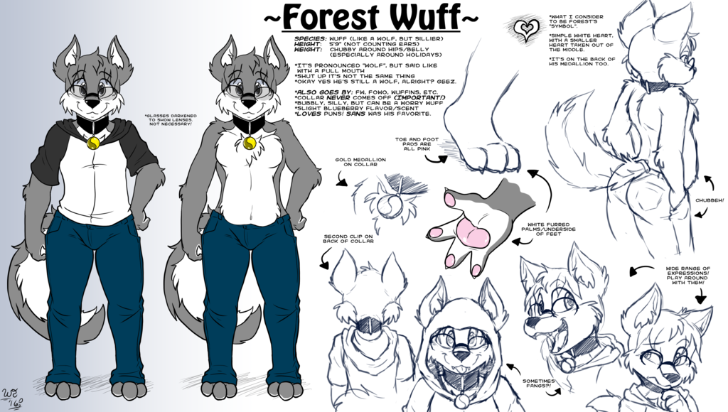 Forest Reference Sheet 2016