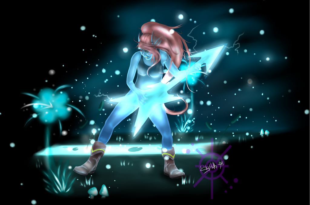Most recent image: Waterfall Metal [Undertale Fanart]