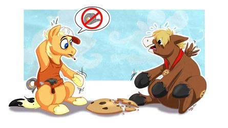 Handy Hooves - Cookie Repair Pony by Dogz