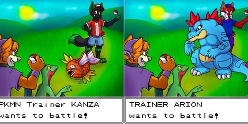 Pokemon Trainers YCH (V1 & V2)
