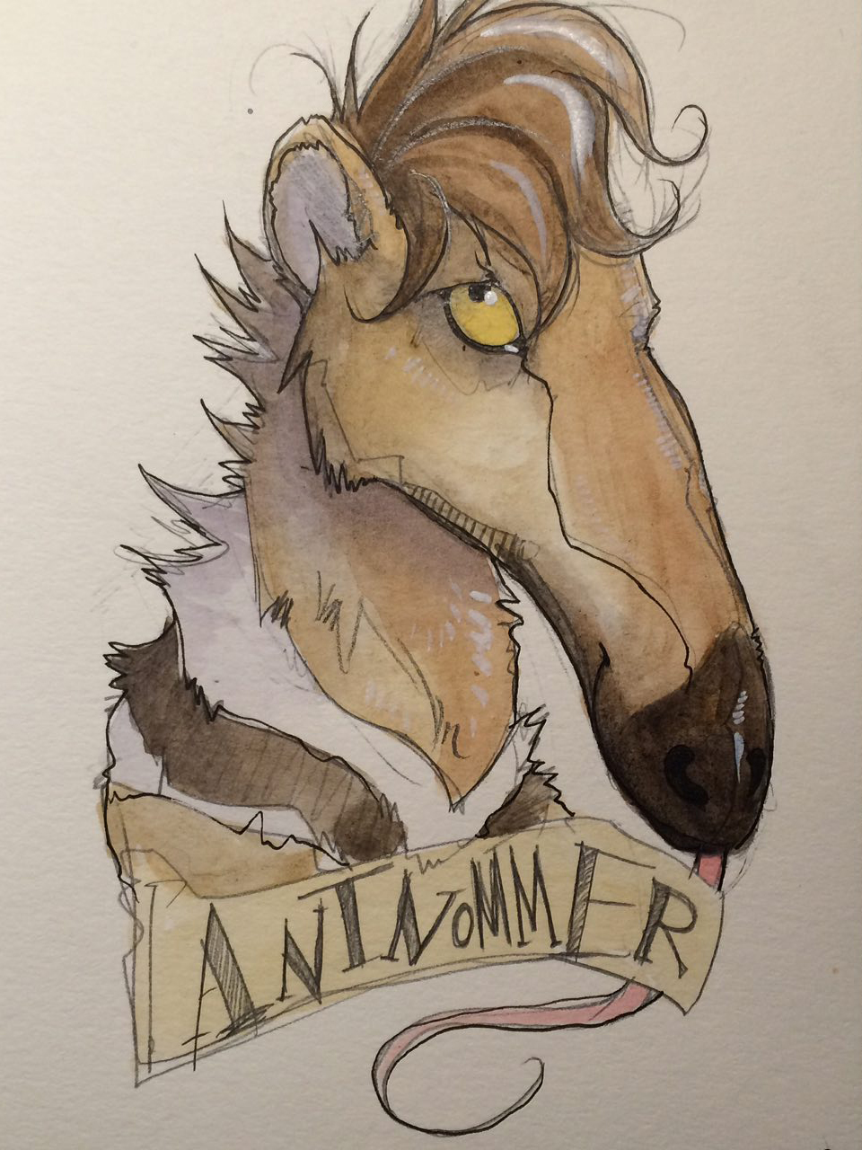 [Commission] Con Badge by Sebastian