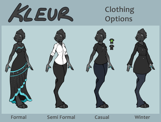 [ Reference ] Kleur's Clothing