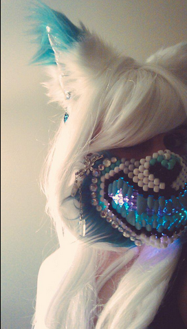 """Jään the Ice Wolf """"partial/outfit"""" for EDC Las Vegas"""