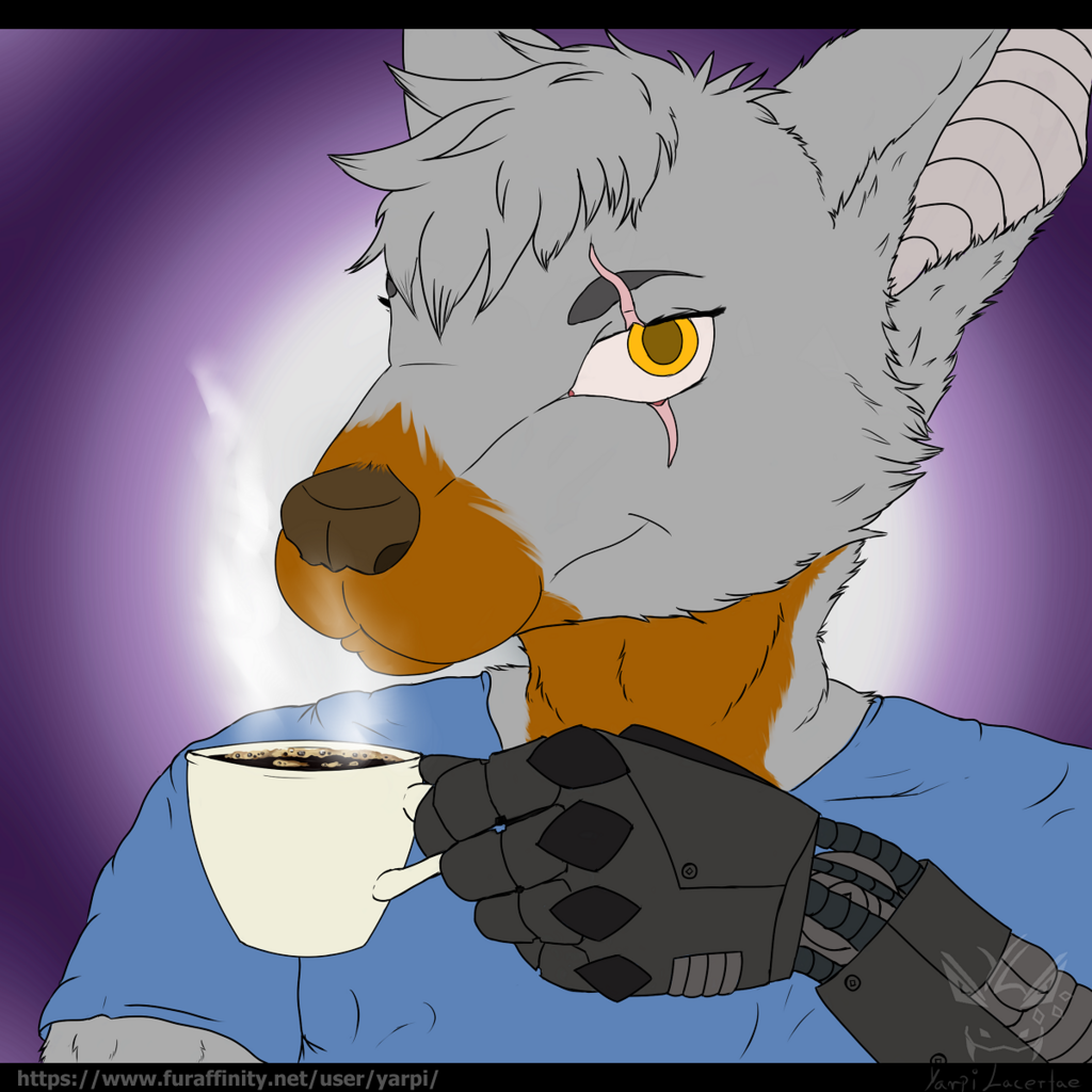 [Gift Artwork] - the cup of coffee