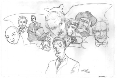 The Life of Vincent Price Pencils