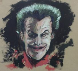 The Joker Pasto Painting