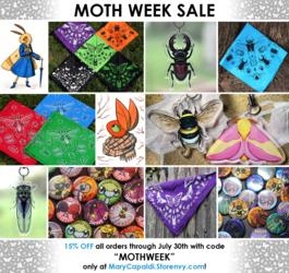 MOTH WEEK SHOP SALE!