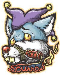 (Con Badge) Scurrow