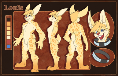 Ref-sheet for Louis
