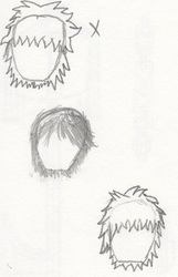 1st Male Character Hairstyles