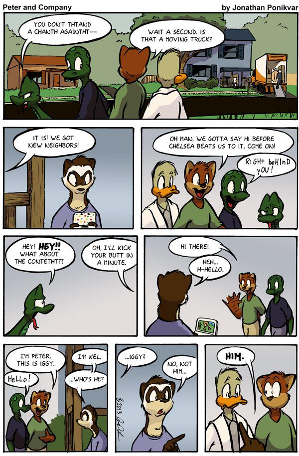 P&C #188: That Weird New Kid