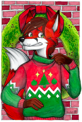 Ugly Christmas Sweater - MFF 2014 Art Show