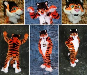 Yuri Bloodfang tiger fullsuit