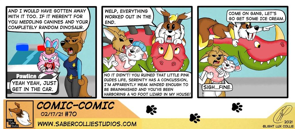 Comic-Comic #70 (2/17/21)
