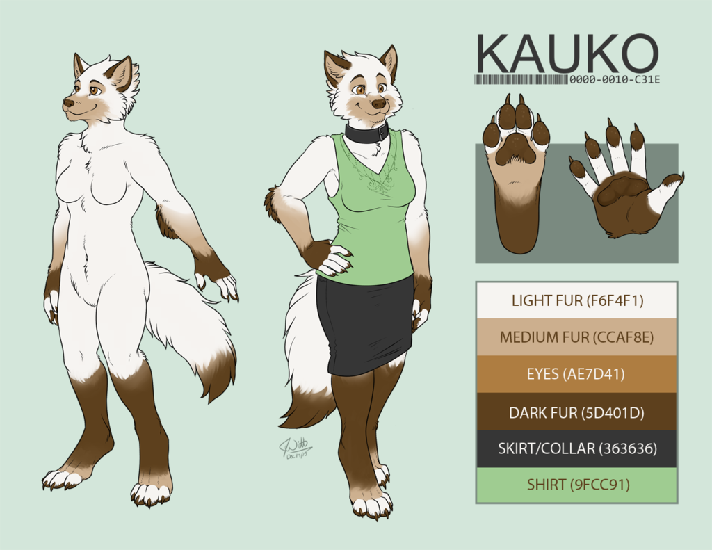 Kauko (Wolf) Reference Sheet