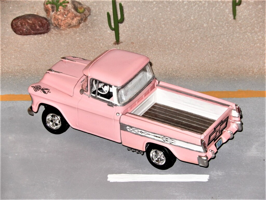 Pink-Up Truck