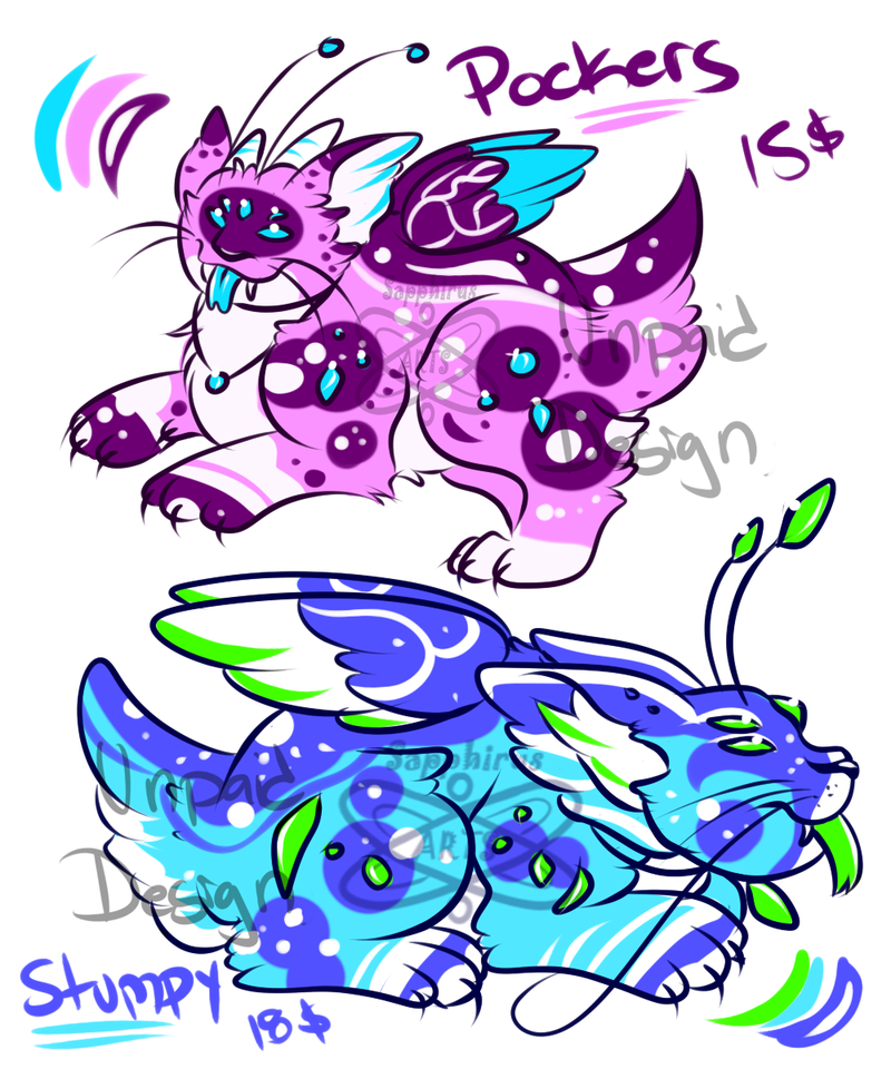 The Pomvons! +Creature adopts 4 Sale+