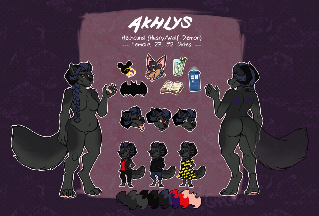 [commission] Reference Sheet: Akhlys