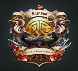 Stinson - Family Crest